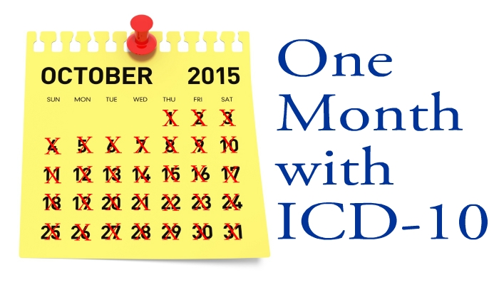 1 month ICD-10