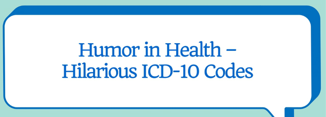 Hilarious ICD 10 Codes