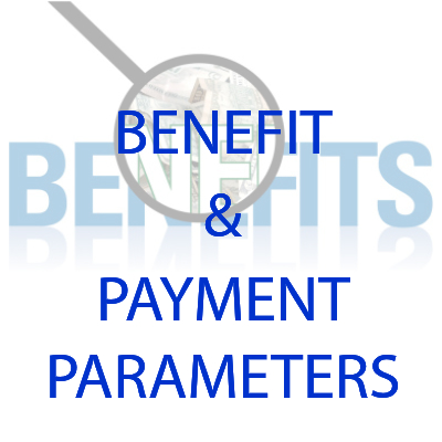 Benefit and Payment Paramenters